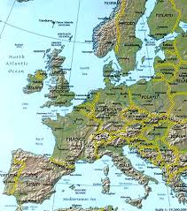 map europ show a map of europe major tourist attractions maps