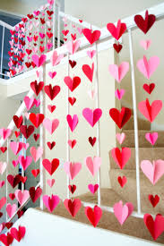 decoration staircase for wedding party imanada d heart paper