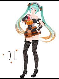 mmd halloween miku download dl by crazymoonchan mmd pinterest