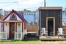 tony house photos whole village of tiny houses makes boneyard studios a unique