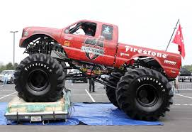 monster truck show at dodger stadium mclane stadium to host monster truck event with u0027bigfoot u0027 baylor