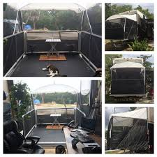 xtend a room toy hauler patio rv outlawz we finally decided to test out our xtend a room from a e and it really does add a good amount of space in our toy hauler the kit will come with support