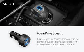 Anker Dual Port Car Charger Anker Powerdrive Speed 2 Port U2013 Icar