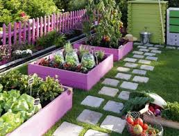 brilliant small gardens with raised beds a raised bed garden in a