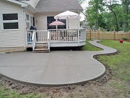 Concrete Decks And Patios King Koncrete South Jersey Concrete Company