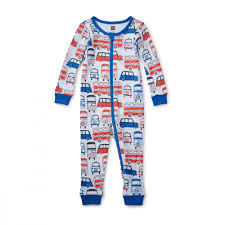 waverley station baby pajamas tea collection