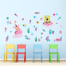 Spongebob Room Decor Spongebob Wall Decals Roselawnlutheran