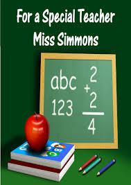 Thank You Card Designs Thank You Teacher Card Design 6