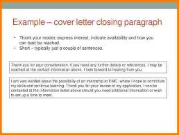 5 cover letter closing statements examples case statement 2017