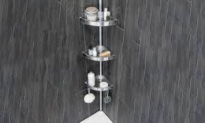 Bathroom Corner Shelving Bathroom Corner Shelving Unit Groupon