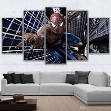 home decor wall posters 2017 canvas paintings home decor wall art frame spider man