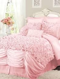 Ruffle Bedding Set Light Pink Ruffle Bedding Modern Bedding Bed Linen