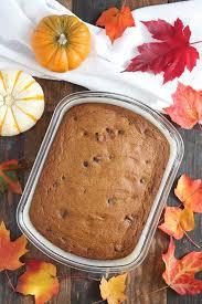 pumpkin chocolate chip cake tasty seasons