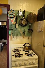 kitchen pegboard ideas den kitchen pegboard diy
