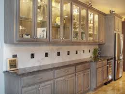 Kitchen Cabinets Oak Racks Time To Decorate Your Kitchen Cabinet With Cool Pickled