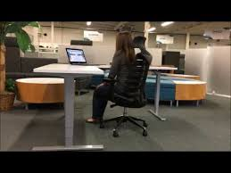 l shaped standing desk l shaped adjustable standing desk youtube