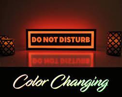 Do Not Disturb Desk Sign Do Not Disturb Sign Etsy