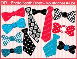 diy photo booth props ties ribbons printable photo booth props diy weddings