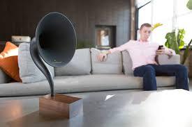 Living Room Bluetooth Speakers Gramovox Bluetooth Gramophone Speaker