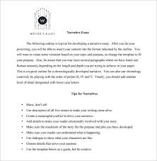 narrative essay outline exle essay outline template 10 free free word pdf format