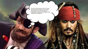 you are a pirate but also he u0027s a pirate but look in the