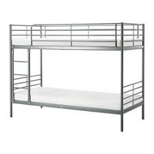 SVÄRTA Bunk Bed Frame Silver Color Loft Bed Ikea Bunk Bed And - Living spaces bunk beds