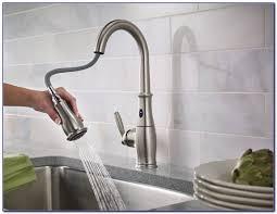 moen u0027s 7594e motionsense kitchen faucet faucets home design