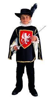 Musketeer Halloween Costume Child Musketeer Costume Renaissance Boy Costumes Blue Black