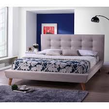 Macys Sleeper Sofa Alaina by Baxton Studio Jonesy Scandinavian Style Mid Century Fabric
