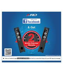 fd 5 1 home theater buy f u0026d f1500u 5 1 speaker system black online at best price in