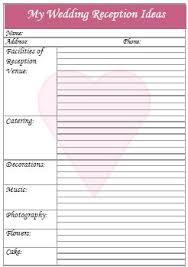 wedding reception planner wedding reception checklist my wedding wedding