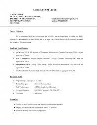 cover letter resume format career objective resume template career