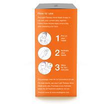 neutrogena light mask activator neutrogena light therapy acne treatment mask fsastore com