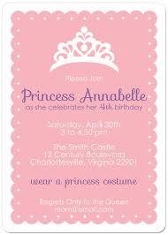 invitation princess birthday party stephenanuno com