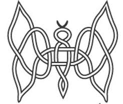 celtic knot butterfly sketch tattoomagz