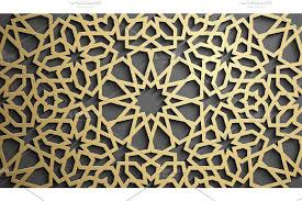islamic ornament vector motiff 3d ramadan islamic