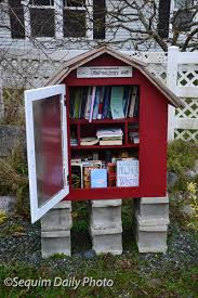 our very own little free library u2013 sequim daily photo