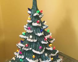 ceramic christmas tree flat wall hanging atlantic mold