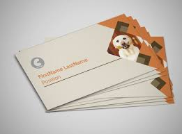 animal charity business card template mycreativeshop