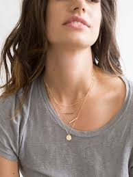 silver gold chain necklace images Set 905 dainty layering necklaces silver 14k gold filled jpg