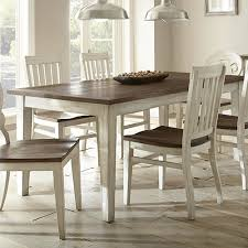 steve silver lighthouse dining table in oak local furniture outlet