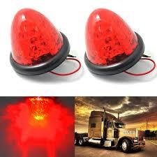 red led marker lights cyan soil bay 2x 3 red 16 led truck side marker lights round