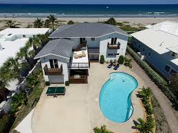 6 bedroom beach front rental home cocoa beach
