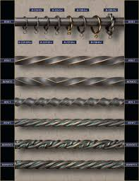Wrought Iron Curtain Rings Wrought Iron Rods And Drapery Hardware Rings Gaby U0027s Shoppe