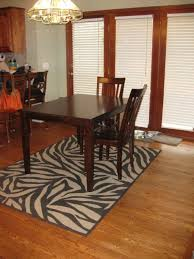 leopard area rug simple dining room with leopard rug design idea dining room