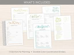 custom wedding planner custom wedding planner wedding book wedding planning guide