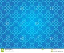 Blue Pattern Background Blue Heart Vintage Art Vector Seamless Pattern Background Stock