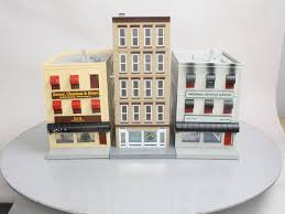 buy mth o scale buildings 5 story flower shop attorney u0027s office
