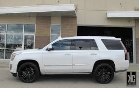 cadillac escalade with black rims kc trends koko kuture massa 7 concave 24x10 0 matte black wheels