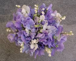 of the valley bouquet lavender sweetpea of the valley bridal bouquet flickr